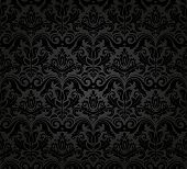 foto of foliage  - Oriental vector pattern with damask - JPG