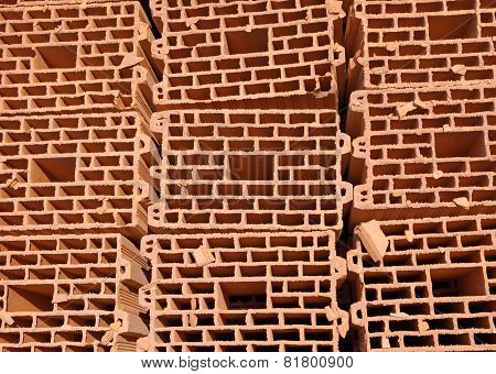 Heap Of Bricks.