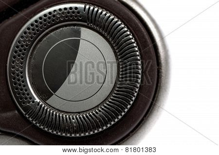 Electric Shaver. Isolated Over White Background