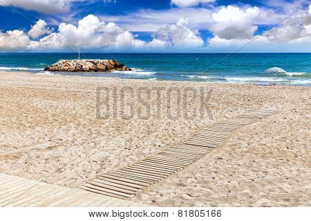 Beaches,coast in Spain .
