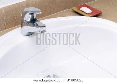 Faience Sink .
