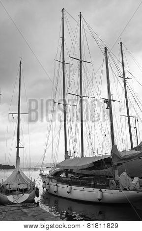 Old Sailing Baot