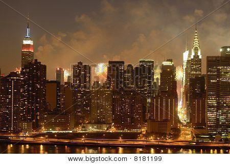 New York City- Fireworks