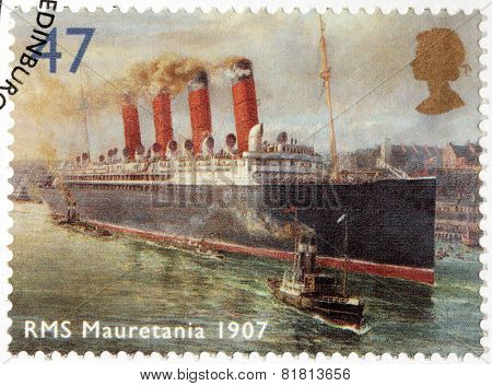 Rms Mauretania Stamp