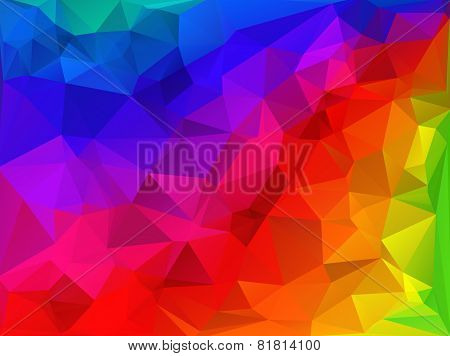 Celebration Beautiful Polygonal Mosaic Background, Vector Illustration,  Business Design Templates