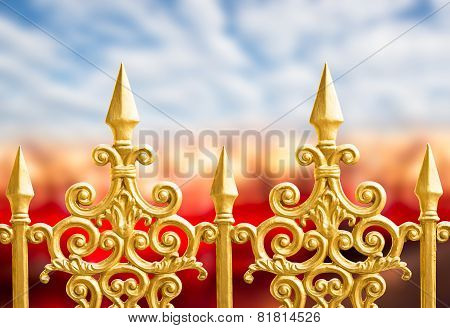 Alloy Fence