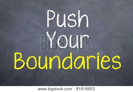 Push Your Boundaries