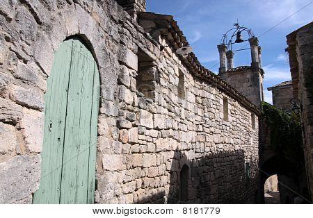Village Street In Lacoste
