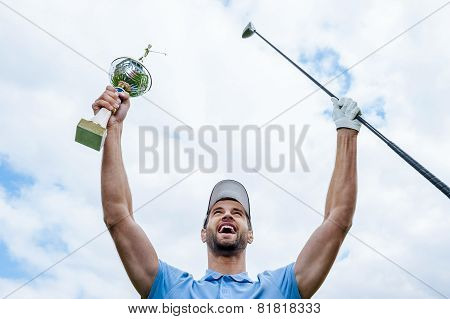 Happy Winner.