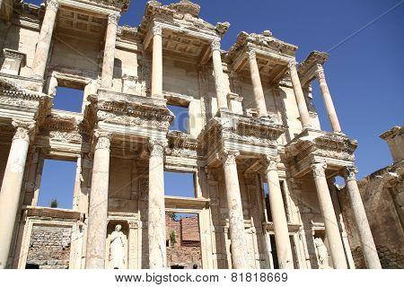 Ruins of Ephesus library