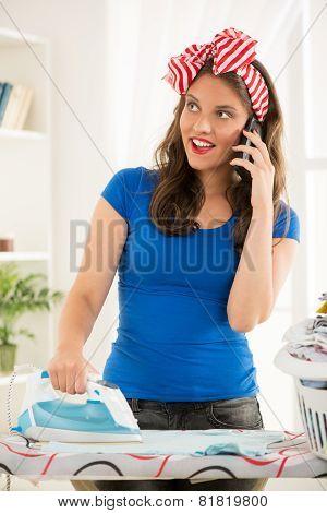 Cheerful Housewife