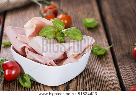 Boiled Ham (close-up Shot)
