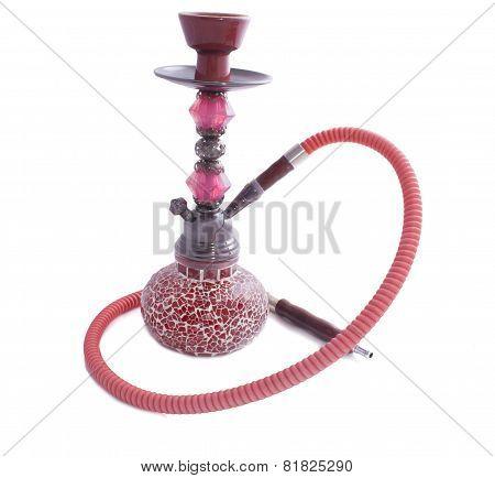 Red Glass Hookah