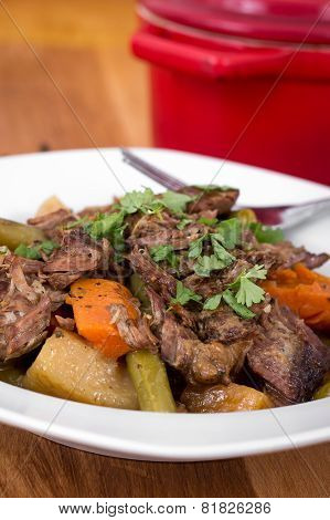 braised beef pot roast stew