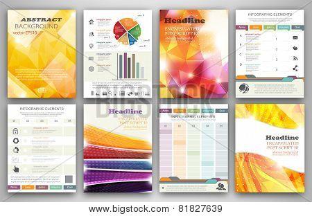Infographic Brochure Templates