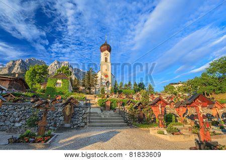 Bavaria landscape of Germany