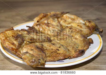 Chicken Devilled Style