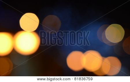 Christmas background, holiday abstract bokeh