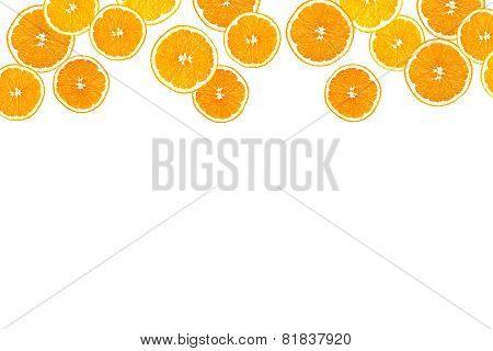 Collage Of Sliced Oranges