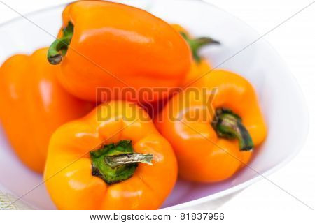 Some Yellow Peppers