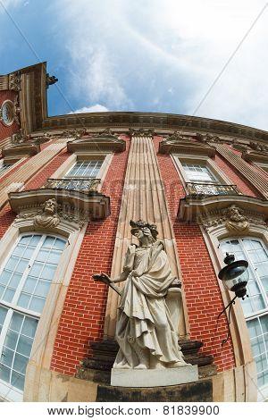 Details Facade Of New Palace Sanssouci
