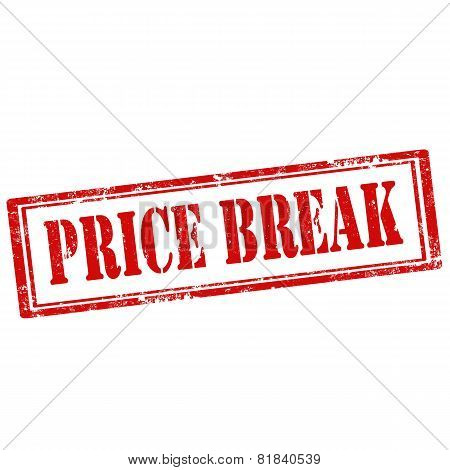 Price Break-stamp