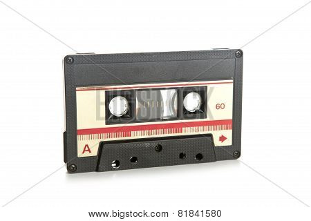 Cassette Tape Isolated On White