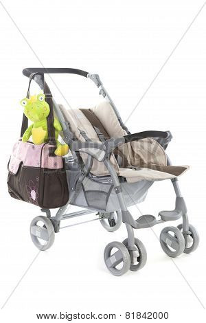 Stroller With Bags, And Toys