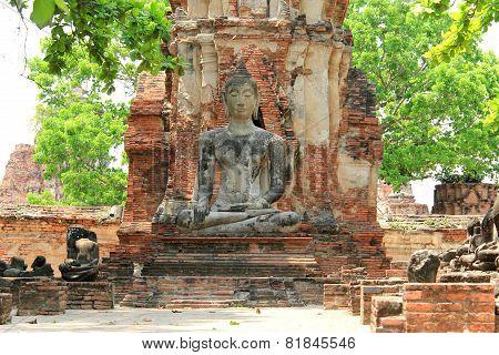 Buddha At Watmahathat Temple