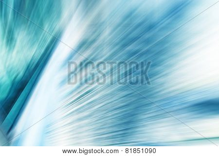 Abstract Motion Blurred High Tech Background.