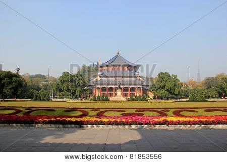 Sun Yat-sen Memorial Hall, Designed By Lu Yanzhi And Built With Funds Raised By Local And Overseas C