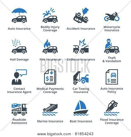 Vehicle Insurance - Blue Series