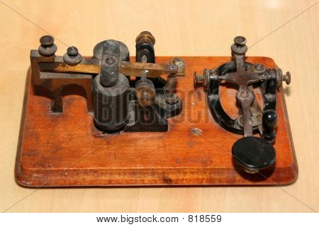 Tecla telegráfica