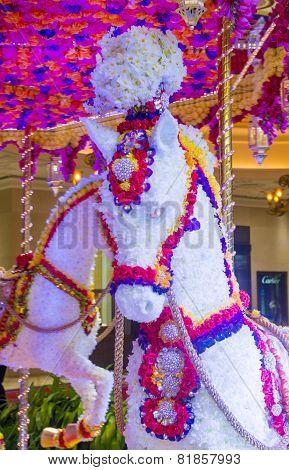 Las Vegas Wynn Hotel Flower Installation