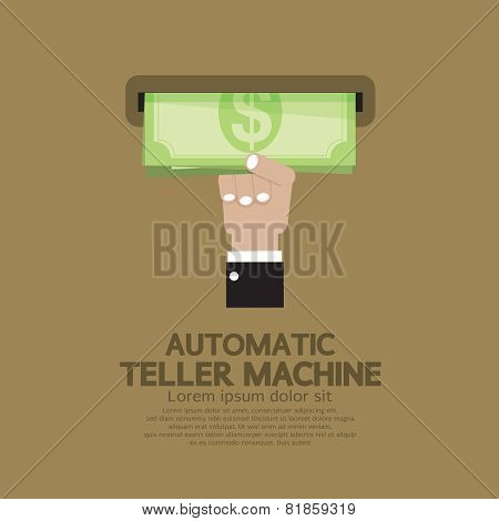 Automatic Teller Machine.