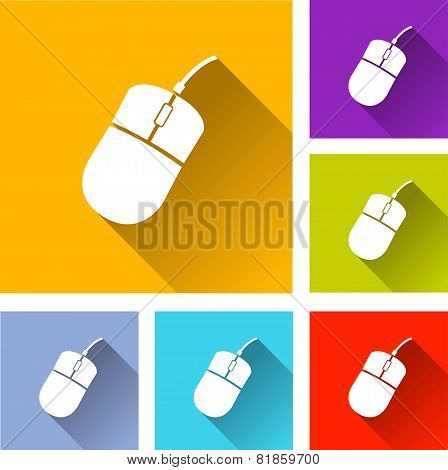 Computer Mouse Icons