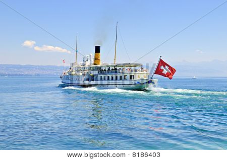 Swiss Excursion Boat