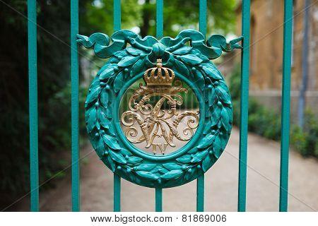 Gate  In A Park Of Sanssouci