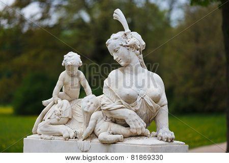 Statue In A Park Of Sanssouci