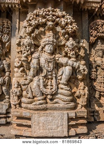 Carving of Vishnu