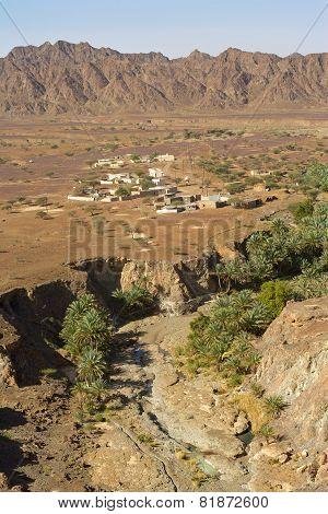 Wadi Madbah in Oman