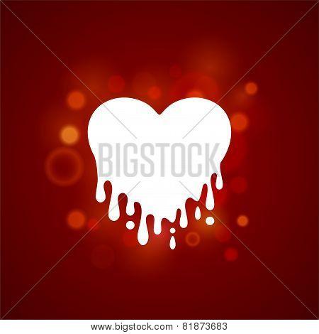 Heart In Streaked