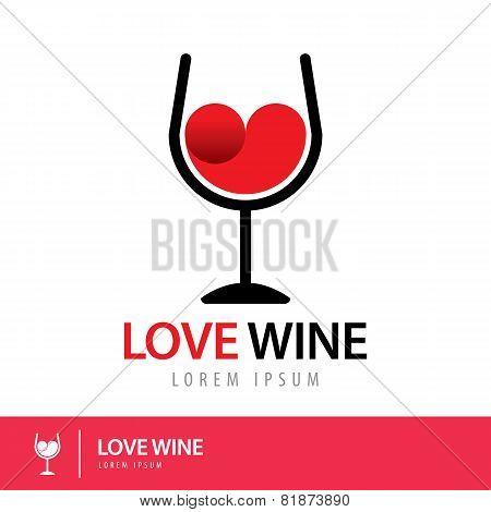 Love Wine Logo