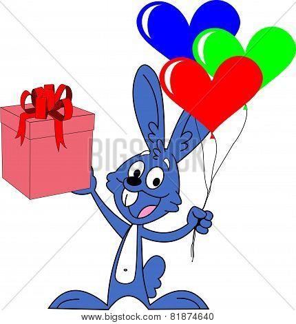 valentines day rabbit