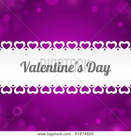 Ribbon Valentine's Day