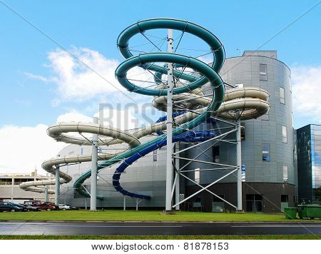 Water Attraction Park In Druskininkai Spa City