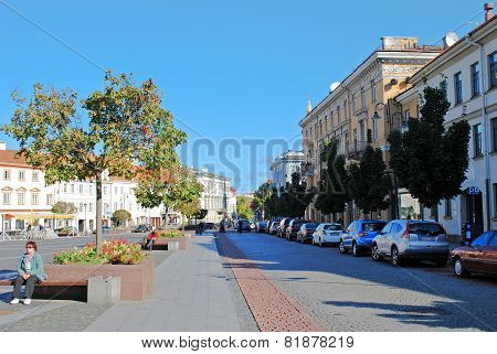 Vilnius City Town Hall Place On September 24, 2014