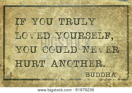 Hurt Another Buddha