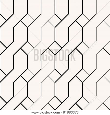 Abstract braid minimalistic black and beige background