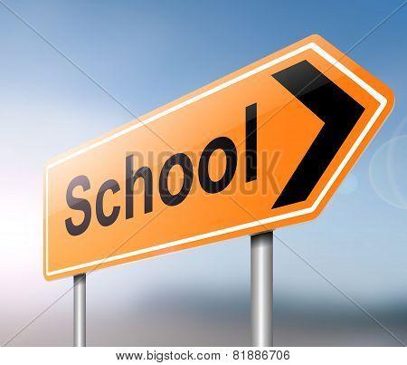 School Concept.